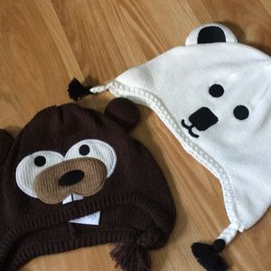 Hats with extra sleeping set